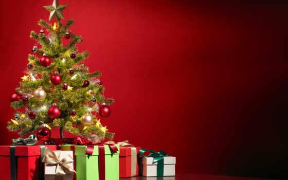 christmas, merry, дерево