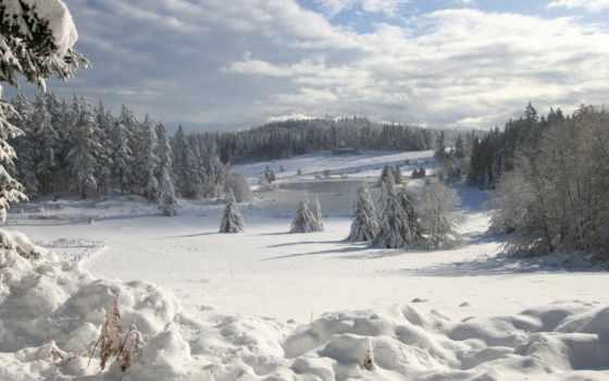 отдых, зимой, карпаты