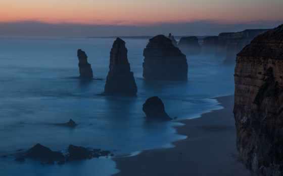 apostles, twelve, австралия, victoria, порт, campbell, national, photos, park,