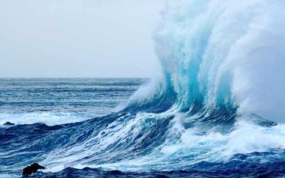 море, ocean, waves, бурное, стих, волна,