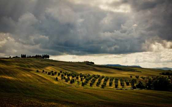 tuscany, landscape, italy, категория, природа, resolution, desktop, served, ди,