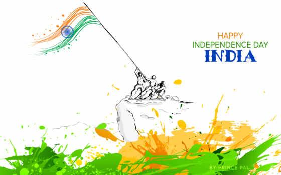independence, день, happy, india, август,