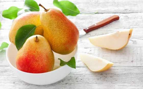 груши, хочешь, дольки, apple,