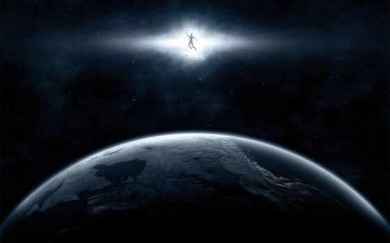 space, человек
