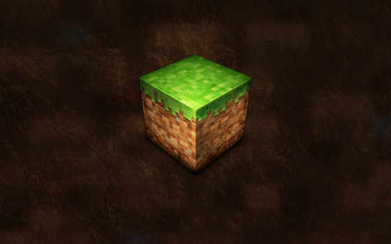 minecraft, кубик