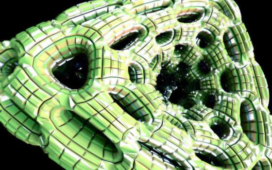 зелёный, structure, Мозаика, треугольник, abstract, соты, parede, papel,