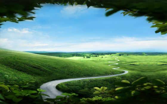 долина полей