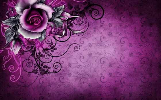 текстура, графика, векторная, роза, vintage, cvety, графики, видеомонтажа, векторной, вектор, упаковка,