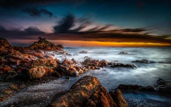 new, zealand, ocean, free, новая, небо, брызги,