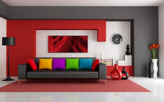 интерьере, яркие, интерьера, design, квартир, роль, интерьер, стили, москве,
