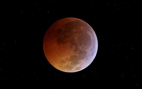 затмение, луны