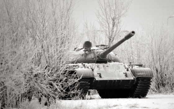 танк, оружие, winter