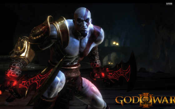 war, god, kratos