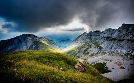 горы, пилатус, швейцария