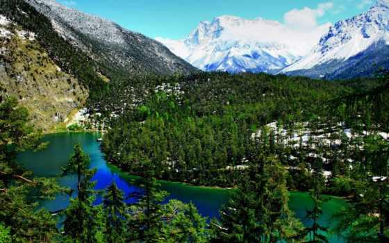 природа, austrian, tyrol, горы, австрии, бибервир, картинка,