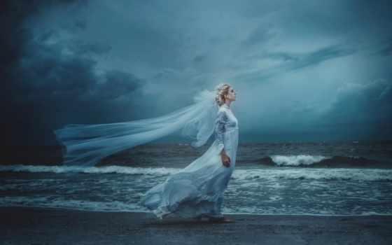 drysdale, art, tj, невеста, madeleine, acton, берег, waves, ветер,