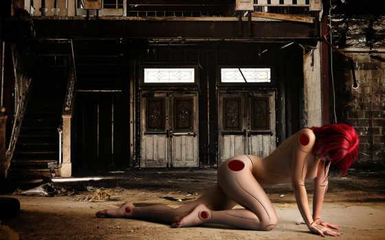 прием, abandoned, hall