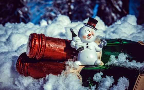 new, год, праздник, christmas