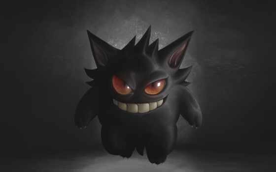 gengar, pokemon, ghost, ghostly