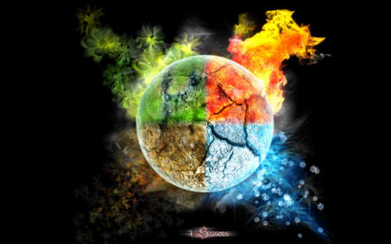 ipad, seasons, planet, four, mysterious, free, face, awesome, new, art,
