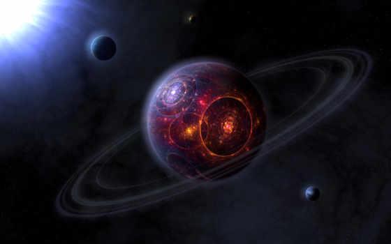 планета, огонь Фон № 24743 разрешение 2560x1600