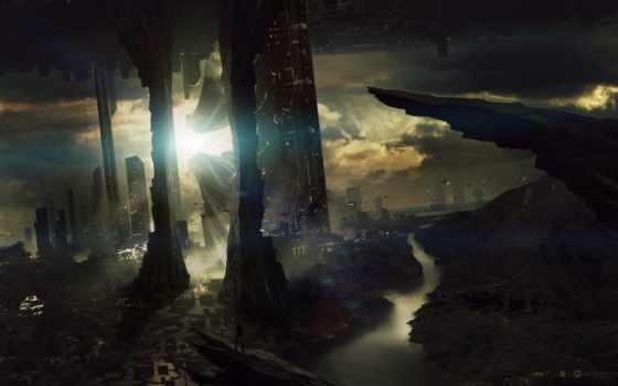 future, город