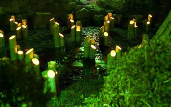 japon, fonds, ecran, simple, японию, фотопутешествие, koku, бамбука,