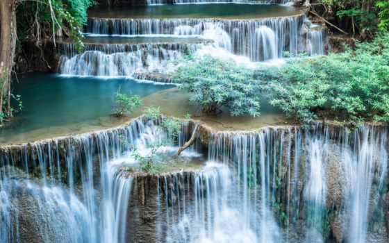 водопад, фотообои, водопады, интерьера, ul, декор,