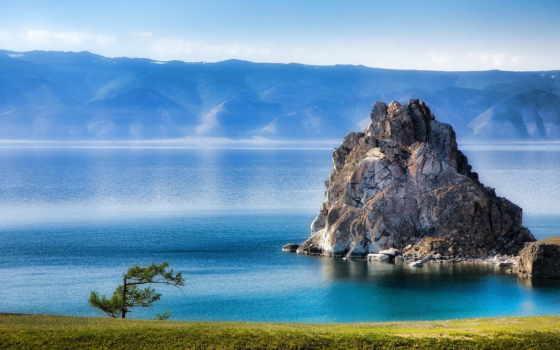 olkhon, байкал, остров, озеро, burhan, rock, шаман, lac, cape, природа,