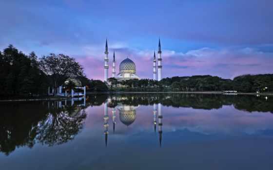 mosque, ислам, заставка, город, shah, есть, который