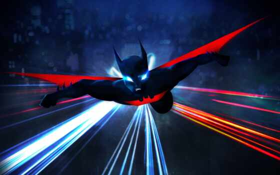batman, beyond, mobile, animate, показать, art