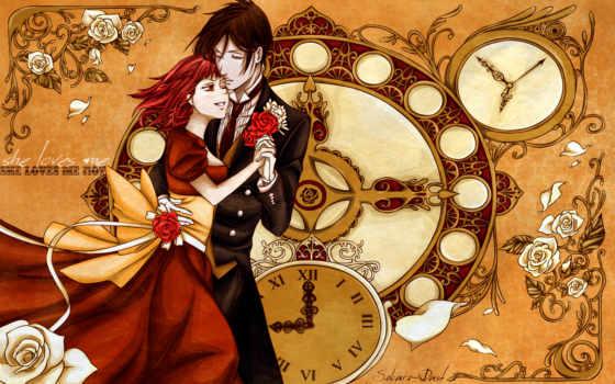 страница, аниме, kuroshitsuji, anime, hair, русский, from, количество, black, png, soul, дворецкий, предыдущая, архива,