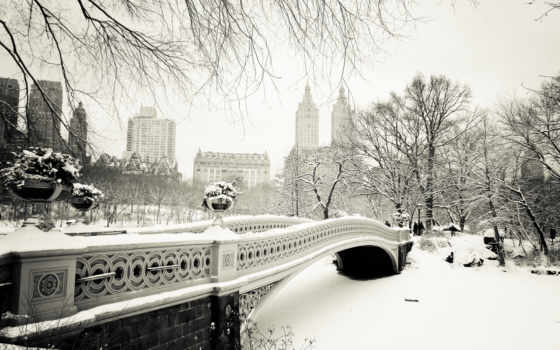 new, york, park, central, нью, bridge, city, bow, manhattan, сша, usa, nyc,