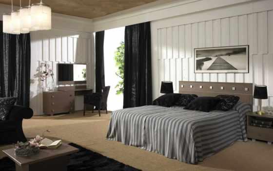дизайн, коттедж, ремонт, дом, вилла, спальня, стиль, интерьер,