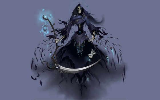 grim, reaper, фэнтези