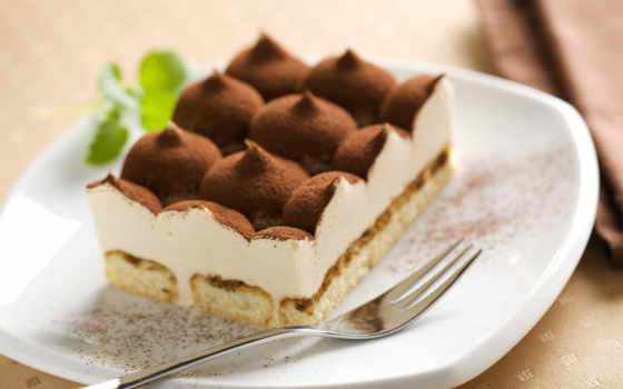 тирамису, десерт, мар