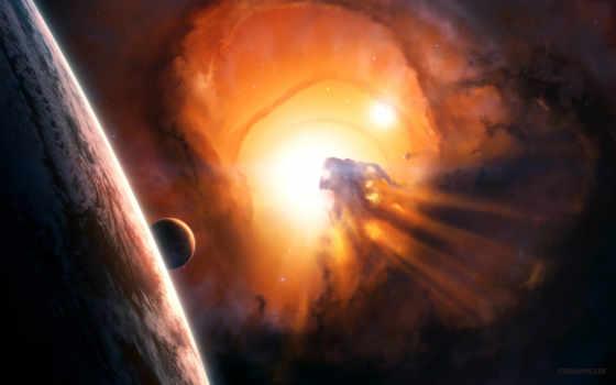 black, hole, межзвездный Фон № 116541 разрешение 1920x1200
