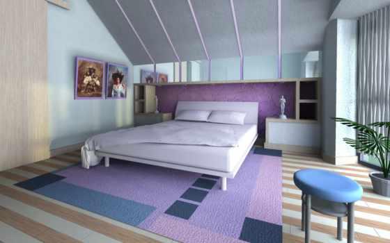 стиль, спальня, комната, design, house, интерьер, жилая,