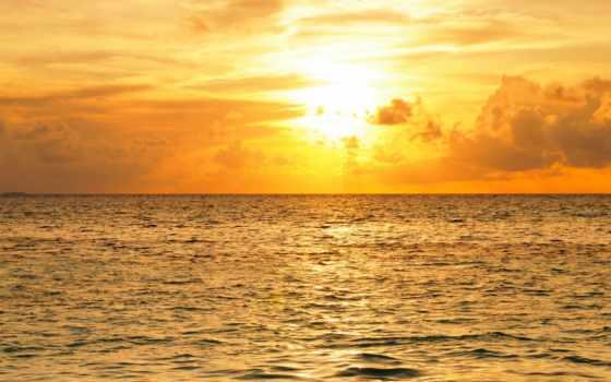 море, desktop, sunsets, sunrises, бесплатные, небо, maldives,