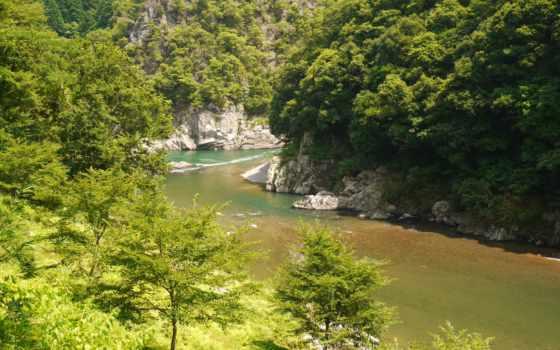 изображение, free, тематика, desktop, фото, природа, rivers, япония, kyoto, viewing,