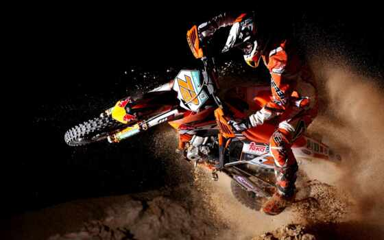 games, мотокросс, bull, red, fighters, ktm,