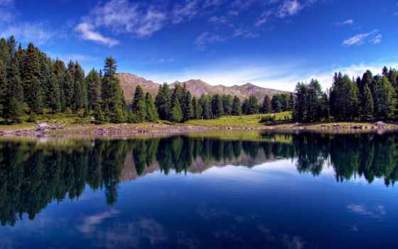 красавица, лесного, озера, густой, сети, among, речных, бороздящих, потоков, бесчисленных, лесных,