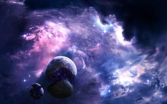 planet, nebula, cosmos, звезды, книга, космос