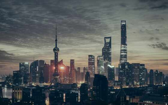 urban, город, landscape, shanghai, hong, площадь, blade, new, ultra