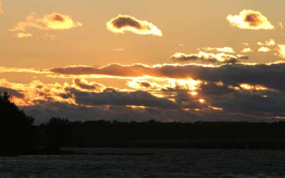 sunset, nature Фон № 16654 разрешение 1920x1200