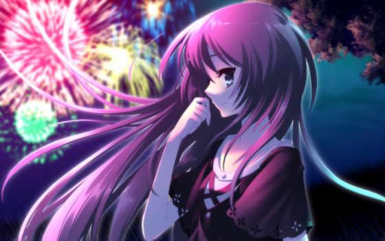 аниме, девушка, девушки Фон № 35168 разрешение 1920x1200