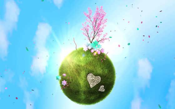 весна, зелёная, литвинова