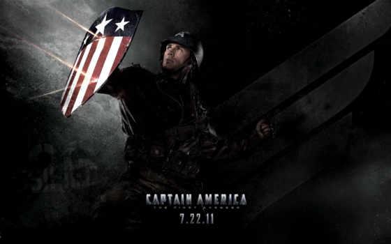 captain, america, initial