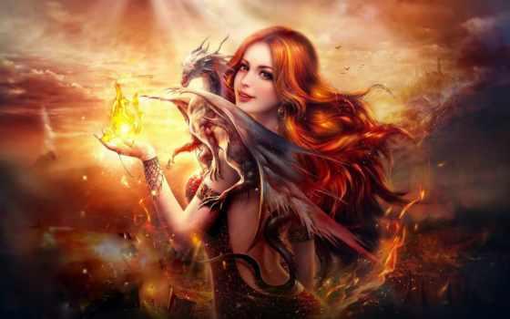 дракон, девушка, fantasy Фон № 157133 разрешение 2560x1600