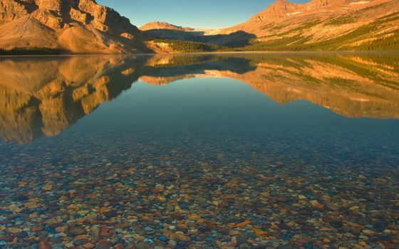 река, desktop, природа, озеро, mountains,